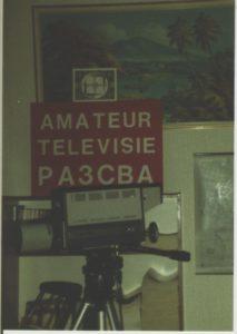 14. Mijn eerste TV camera om beelden uit te zenden